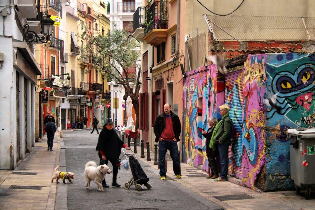 El Carmen, uno de los barrios más auténticos de Valencia.