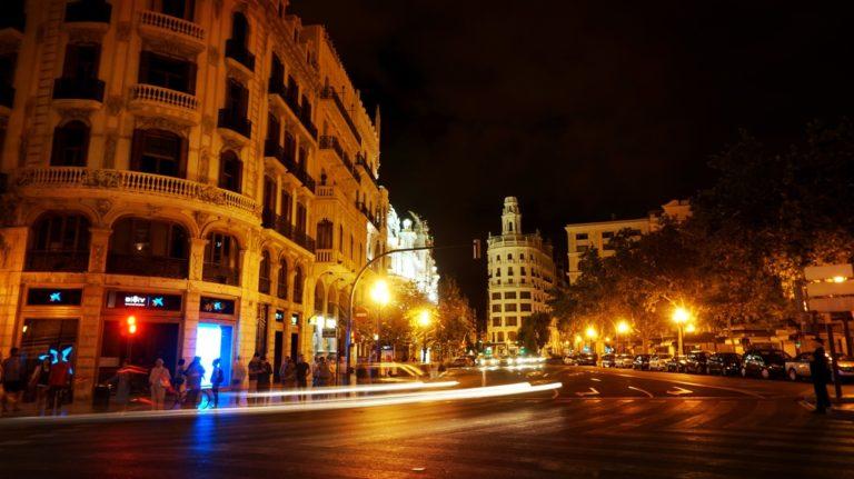 Valencia nocturna