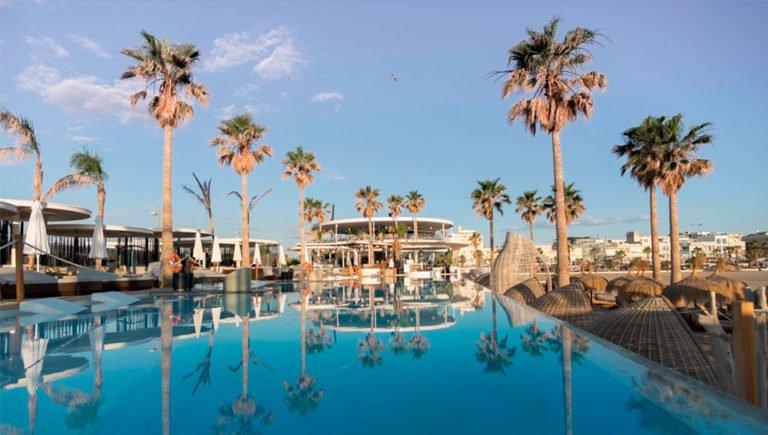 Marina Beach Club. Fiesta en Valencia