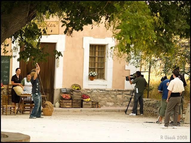 Grabación de L'Alqueria Blanca series cine Valencia