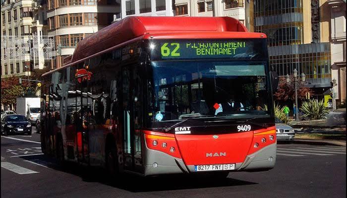 bus publico valencia