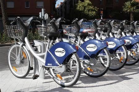 bici pública en valencia