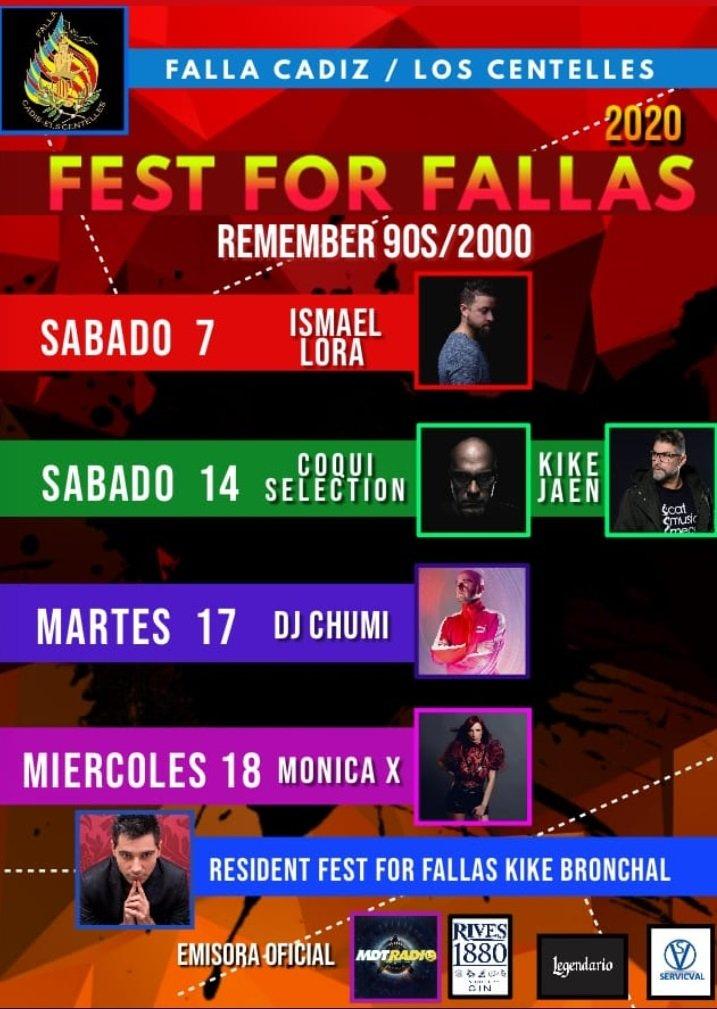 FALLAS 2020: Verbenas, orquestas y discomóviles 4