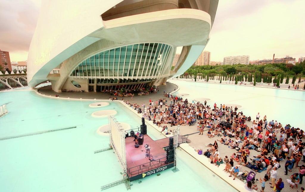 3 eventos musicales en La Ciudad de las Artes y las Ciencias 2