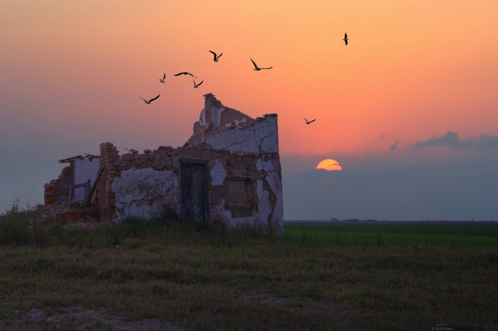 Valencia puesta de sol , Valencia atardecer